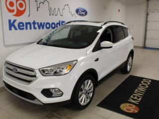 Used 2019 Ford Escape 3 MONTH DEFERRAL! *oac | SEL AWD | Heated Leather | Sunroof | Power Tailgate for sale in Edmonton, AB