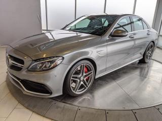 Used 2015 Mercedes-Benz C-Class C63 AMG S | Premium | Intelligent Drive | Performance Seats | No Accidents for sale in Edmonton, AB