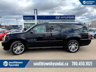 Used 2014 Cadillac Escalade ESV PREMIUM/AWD/NAV/ETS/HEATED SEATS for sale in Edmonton, AB