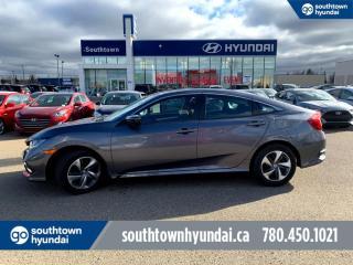 Used 2019 Honda Civic Sedan LX/LANE ASSIST/HEATED SEATS/BACKUP CAM for sale in Edmonton, AB
