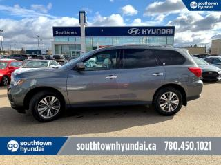 Used 2019 Nissan Pathfinder SV 4WD/BLIND SPOT/HEATED SEATS/BACK UP CAM for sale in Edmonton, AB