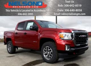 New 2021 GMC Canyon 4WD AT4 w/Leather for sale in Avonlea, SK