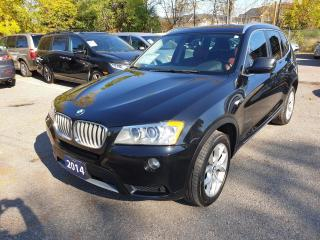 Used 2014 BMW X3 xDrive28i for sale in Brampton, ON