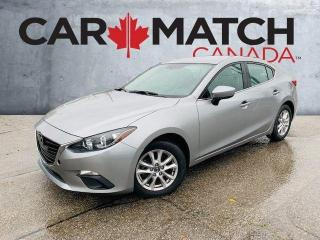 Used 2016 Mazda MAZDA3 GS / ALLOY WHEELS / NAV for sale in Cambridge, ON