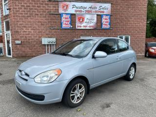 Used 2009 Hyundai Accent 1.6L/5 SPEED/NO ACCIDENT/SAFETY+WARRANTY INCLUDED for sale in Cambridge, ON