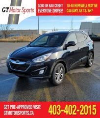 Used 2014 Hyundai Tucson GLS | $0 DOWN - EVERYONE APPROVED! for sale in Calgary, AB