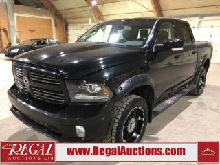 Used 2014 RAM 1500 Sport Crew Cab SWB 4WD for sale in Calgary, AB