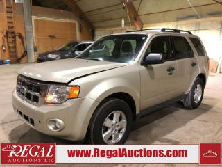 Used 2011 Ford Escape XLT 4D Utility AWD for sale in Calgary, AB