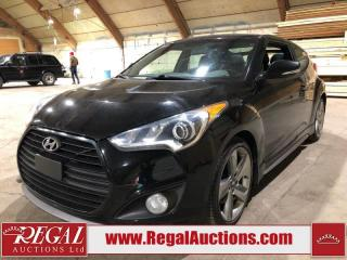 Used 2013 Hyundai Veloster Turbo 2D Coupe for sale in Calgary, AB