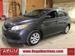 Used 2013 Toyota Matrix Base 4D Hatchback AWD for sale in Calgary, AB