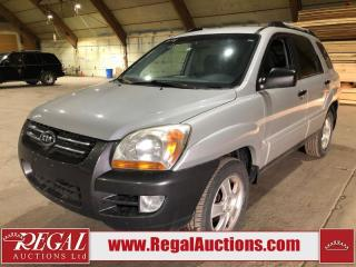 Used 2008 Kia Sportage LX 4D Utility FWD for sale in Calgary, AB