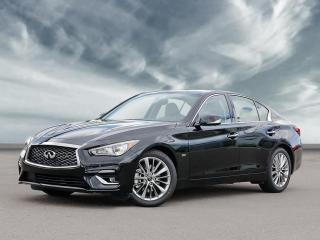 New 2020 Infiniti Q50 Pure Apple Car Play+Android Auto, 300 Horsepower! for sale in Winnipeg, MB
