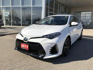 Used 2017 Toyota Corolla SE UPGRADE PKG for sale in Winnipeg, MB