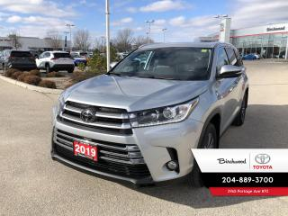 Used 2019 Toyota Highlander XLE Navigation | Push Button Start for sale in Winnipeg, MB