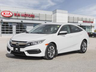 Used 2017 Honda Civic LX **Local Trade | Heated Seats | Low KMS** for sale in Winnipeg, MB