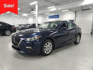 Used 2014 Mazda MAZDA3 GS - CAMERA + SIEGES CHAUFFANTS + JAMAIS ACCIDENTE for sale in Saint-Eustache, QC