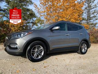 Used 2018 Hyundai Santa Fe Sport LUXURY AWD *HEATED LEATHER - CARPLAY - NAVIGATION* for sale in Winnipeg, MB