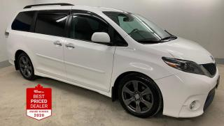 Used 2017 Toyota Sienna SE *HEATED LEATHER - PWR SLIDING DOORS - LOW KM`S* for sale in Winnipeg, MB