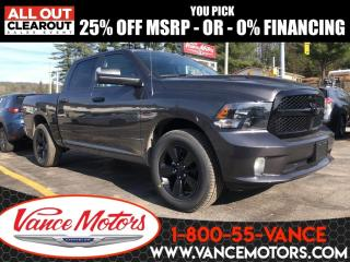 New 2020 RAM 1500 Classic NIGHT EDITION for sale in Bancroft, ON