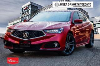 Used 2020 Acura TLX 2.4L P-AWS w/Tech Pkg A-Spec No Accident| Remote S for sale in Thornhill, ON