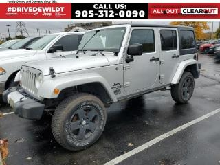 Used 2011 Jeep Wrangler Unlimited SAHARA | HEATED SEATS | ALPINE SOUND | for sale in Hamilton, ON