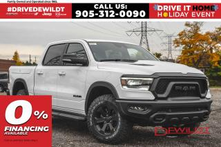 New 2021 RAM 1500 REBEL | AIR RIDE | RAMBOX | PANO ROOF | for sale in Hamilton, ON