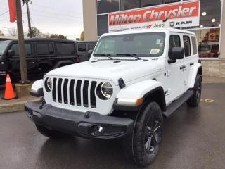 New 2021 Jeep Wrangler Unlimited UNLIMITED SAHARA/2 TOPS/TOW PKG /SAFETY GRP for sale in Milton, ON