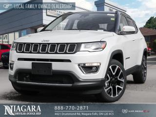 New 2021 Jeep Compass LIMITED for sale in Niagara Falls, ON