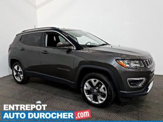 Used 2018 Jeep Compass Limitée AWD Automatique - Nav - A/C - CUIR for sale in Laval, QC