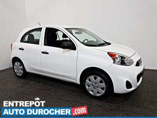 Used 2019 Nissan Micra S Automatique - A/C - Caméra de Recul for sale in Laval, QC