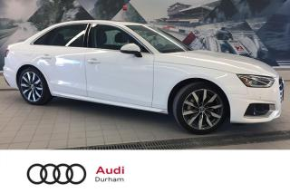Used 2020 Audi A4 2.0T Komfort + Sunroof | CarPlay | Convenience Pkg for sale in Whitby, ON