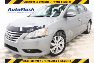 Used 2013 Nissan Sentra SL* CUIR* TOIT* CAMERA* MAGS* BLUETOOTH* CRUISE* for sale in Saint-Hubert, QC