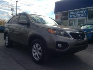 Used 2013 Kia Sorento AWD 4dr V6 Auto LX w-3rd Row - Local Trade for sale in Cornwall, ON