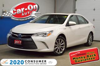 Used 2017 Toyota Camry HYBRID XLE HYBRID LEATHER| SUNROOF| NAVIGATION for sale in Ottawa, ON