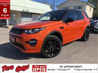 Used 2017 Land Rover Discovery Sport HSE Luxury | Black Pack | AWD | Low KMS | Nav | for sale in St Catharines, ON