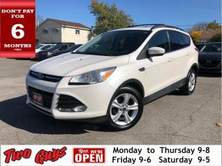 Used 2014 Ford Escape Nice Local Trade In! Leather Pano Roof Back Up Cam for sale in St Catharines, ON