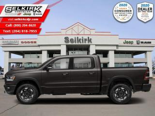 New 2021 RAM 1500 Rebel - HEMI V8 - Night Edition for sale in Selkirk, MB