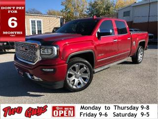 Used 2018 GMC Sierra 1500 DENALI | 6.2L CREW 4X4 | Nav | Sunroof | Tow Pkg for sale in St Catharines, ON