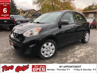 Used 2015 Nissan Micra S |  Local Trade | Good Tires | Great Mileage | St for sale in St Catharines, ON