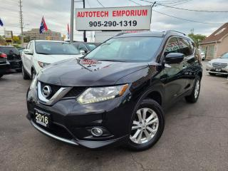 Used 2016 Nissan Rogue SV AWD w/Technology Navigation/360 Cam/Sunroof for sale in Mississauga, ON