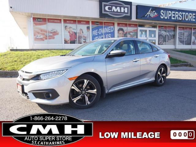 2017 Honda Civic Sedan Touring  NAV CAM ROOF LEATH HTD-SEATS 17-AL