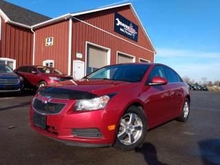 Used 2014 Chevrolet Cruze 2LT No Accidents, Back-up Camera, Leather, Hands-free for sale in Dunnville, ON