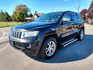 Used 2012 Jeep Grand Cherokee Overland for sale in Dunnville, ON