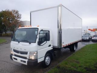 Used 2019 Mitsubishi Fuso FE160 20 Foot Cube Van With Ramp for sale in Burnaby, BC