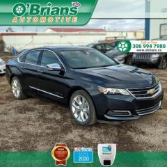 Used 2018 Chevrolet Impala Premier - Accident Free! w/Leather, Navigation, Heated Seats and for sale in Saskatoon, SK