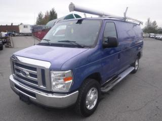 Used 2012 Ford Econoline E-250 Cargo Van with Shelving and Ladder Rack for sale in Burnaby, BC