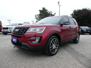 Used 2017 Ford Explorer Sport | Navigation | Heated Seats | Remote Start for sale in Essex, ON
