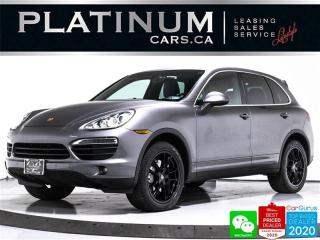 Used 2012 Porsche Cayenne S, V8, NAV, SUNROOF, PARKING, HEATED, BOSE, MEMORY for sale in Toronto, ON