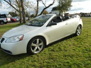 Used 2008 Pontiac G6 Cabriolet à 2 portes GT for sale in St-Isidore, QC