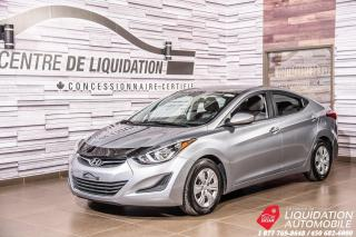 Used 2016 Hyundai Elantra L+A/C+VITRE/ELECT for sale in Laval, QC